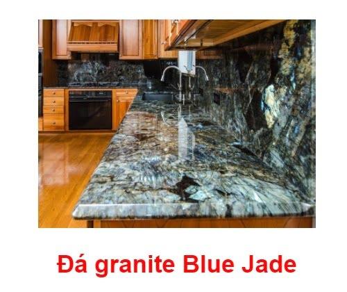 đá ốp bếp Blue Jade