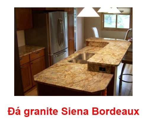 đá ốp bếp HCM Siena-Bordeaux